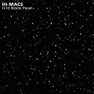 Hi-Macs Black Pearl G010