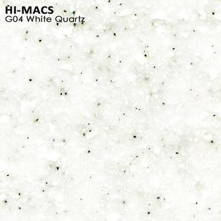 Hi-Macs White Quartz G004