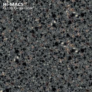 Hi-Macs Gray Onix G103