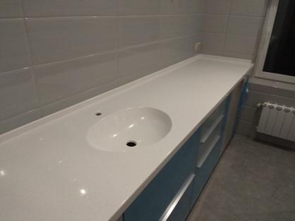 Столешница в ванную комнату 3