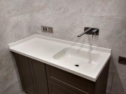 Столешница в ванную комнату 6