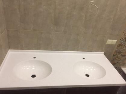 Столешница в ванную комнату 7