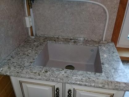 Столешница в ванную комнату 5