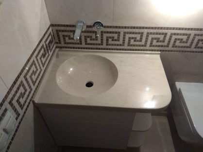 Столешница в ванную комнату 4