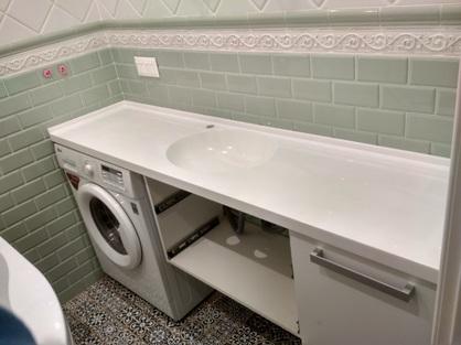 Столешница в ванную комнату 8