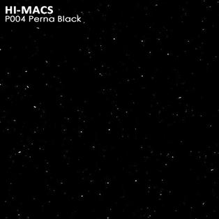 Hi-Macs Perna Black P004