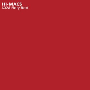 Hi-Macs Fiery Red S025