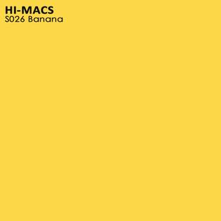 Hi-Macs Banana S026