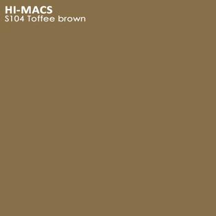 Hi-Macs Toffee Brown S104